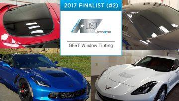 Premier Auto Tint Receives 2017 Best Window Tinting Service Award