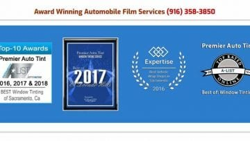 2018 Best Auto Window Tinting Top-10 Services 3rd Consecutive Award