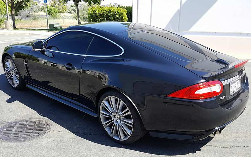 Auto Window Tinting Service for a Jaguar XKR175 by Premier Auto Tint