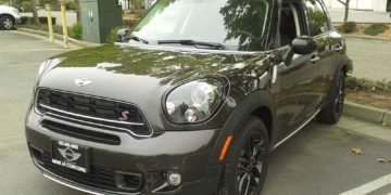 Clear Bra Paint Film and Car Tint Window Services for this Sweet Mini Cooper.