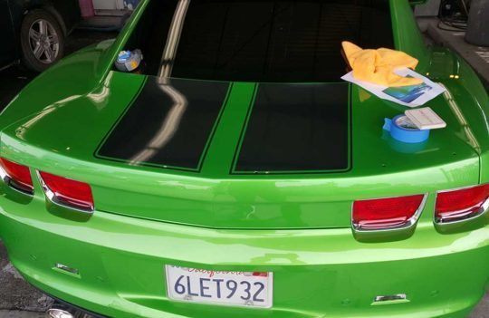 Custom-Graphic-Design-Vehicle-Wrap-Chevy-Camaro-SS-Auto-Back-Graphic-El-Dorado-Hills-CA