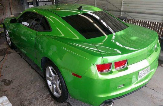 Custom-Graphic-Design-Vehicle-Wrap-Chevy-Camaro-SS-Auto-Back-Left-El-Dorado-Hills-CA