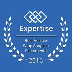 best vehice wrap shops in sacto 2016 award image