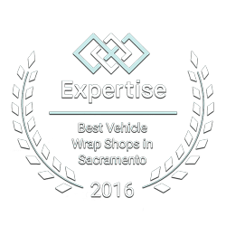 Best Vehicle Wrap Shops Award for Premier Auto Tint in Sacramento, CA by 2016 Expertise.com