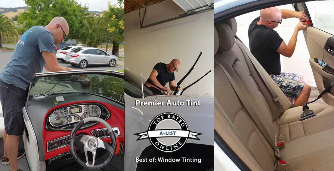 Premier Auto Tint Wins 2016 Sacramento A-List Best Window Tinting Award
